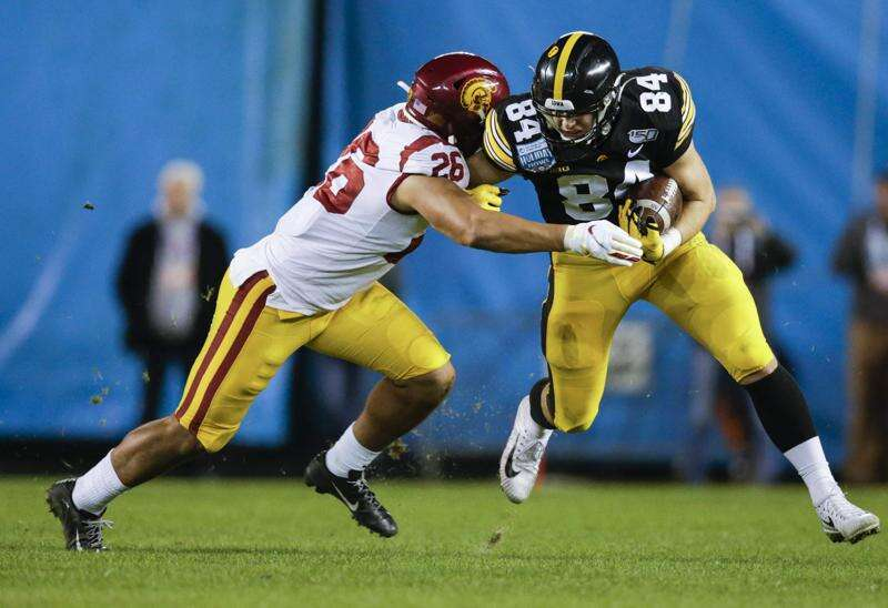 Is Sam LaPorta the next great Iowa tight end? Sure looks like he's on his way there