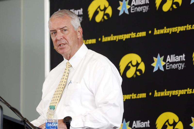University of Iowa Athletics projecting $75 million deficit, and that's with winter sports