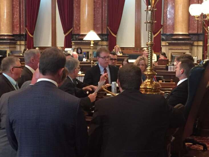 Legislative leaders vow action on Gov. Reynolds' $15 million flood aid package