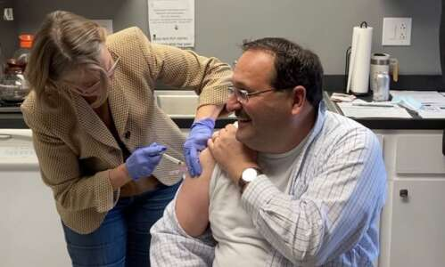Iowa's GOP vaccination champion