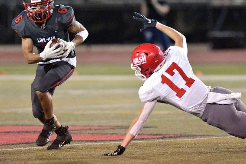 Photos: Cedar Rapids Washington vs. Linn-Mar, Iowa high school football Week 4