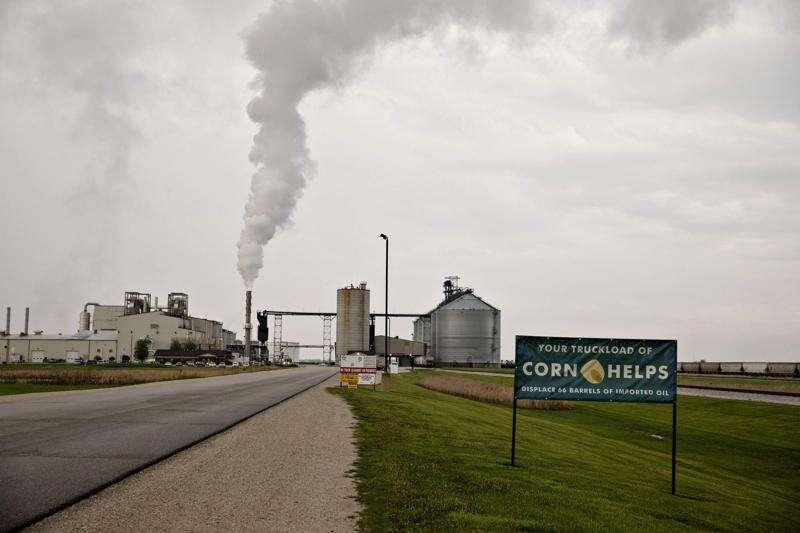 Gov. Kim Reynolds signs ethanol bill in Steamboat Rock