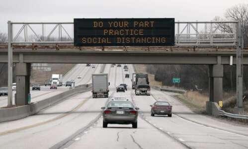 Iowans drive more even as pandemic worsens