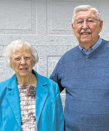 70th Wedding Anniversary - Jim and Joanne Trcka