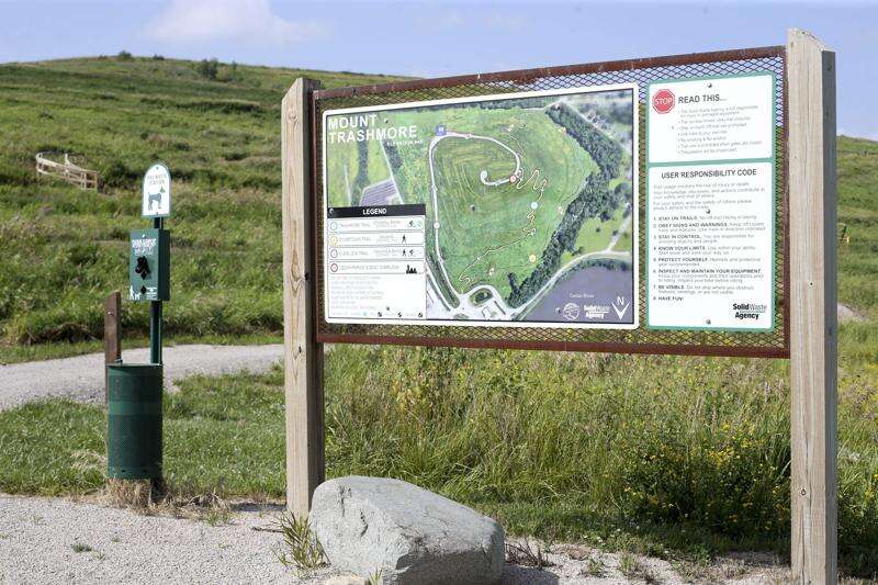Mount Trashmore opens to mountain bikers and hikers Aug. 1