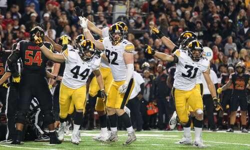 Iowa Hawkeyes leave Terrapins in shell shock
