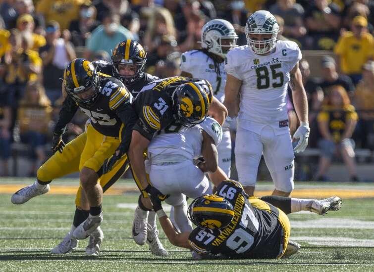 Iowa football lassos close win over Colorado State