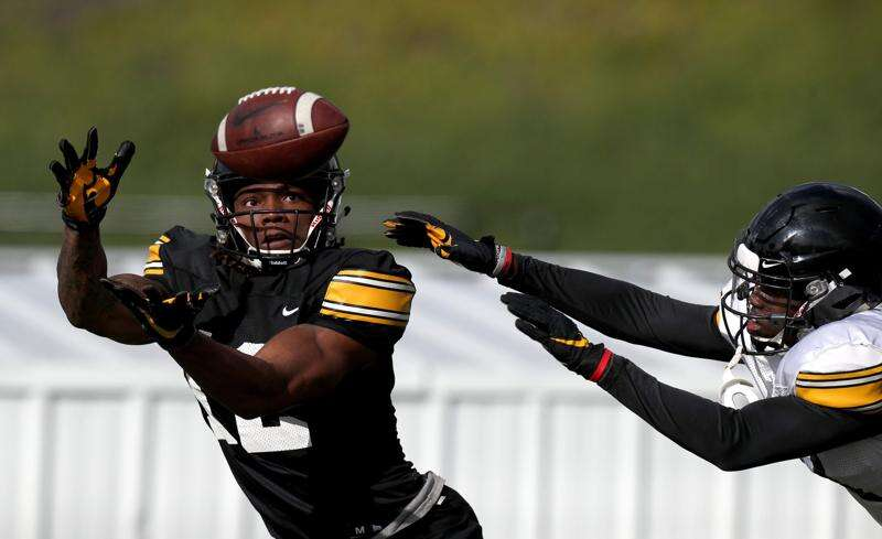 If you're looking for Iowa's best potential 2020 position group, it's the wide receivers