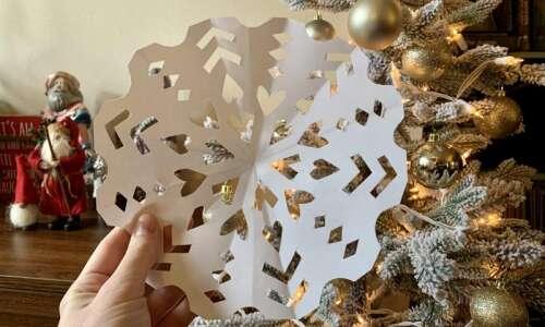 How to make a perfect snowflake