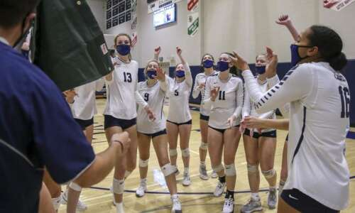 Cedar Rapids Xavier qualifies for its 5th straight state volleyball…