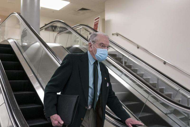 Grassley unswayed by latest polling, hints he will run in 2022
