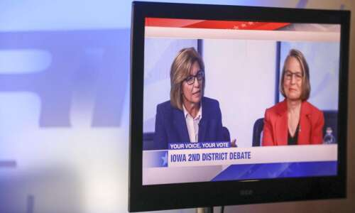 U.S. House rivals Hart and Miller-Meeks focus on health care,…
