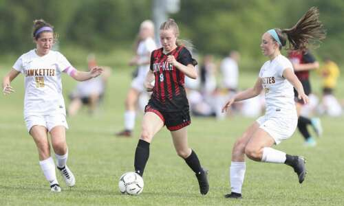Linn-Mar eliminated by Ankeny at girls' state soccer for second…