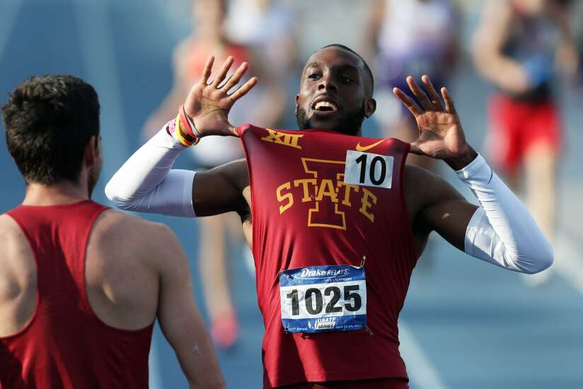 Drake Relays: Iowa State breaks 36-year-old 3,200-meter relay record