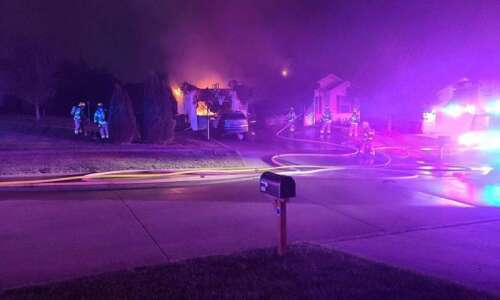 Family dog rescued at Cedar Rapids house fire early Sunday