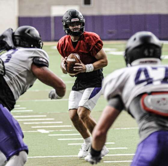 UNI football wraps up fall practice full of opportunities