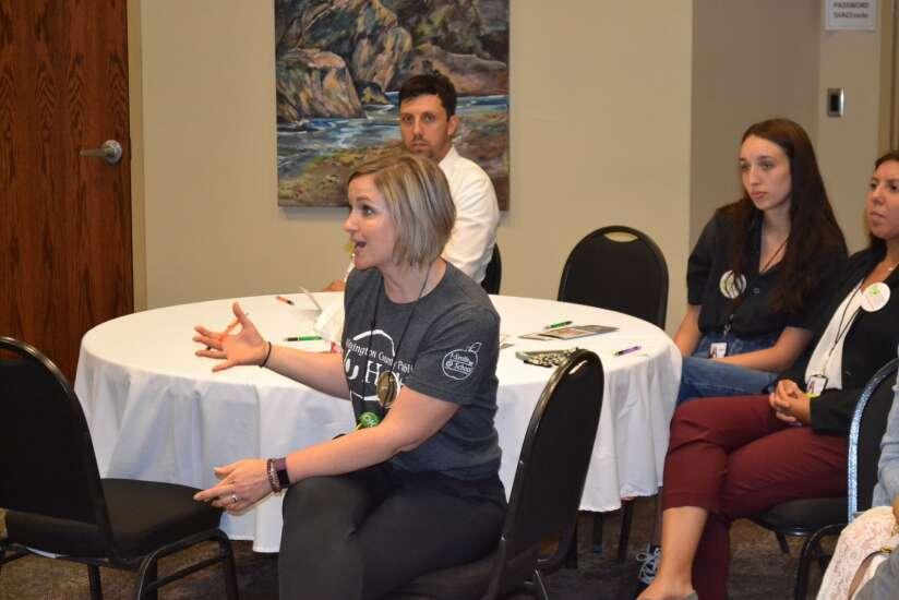 Grassley talks public health at Fairfield visit