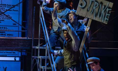 REVIEW: 'Newsies' leaps onto Theatre C.R. stage