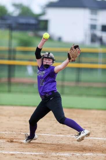 Iowa City Liberty, Iowa City High split 5A top-10 softball twinbill