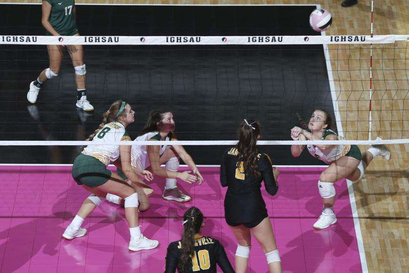 St. Albert knocks off No. 1 Janesville in a 1A state volleyball shocker