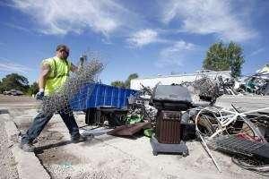 Cleanup events take place in Iowa City, Cedar Rapids