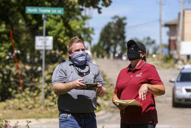 Insurance companies use drones, allow virtual adjusting for Cedar Rapids storm damage