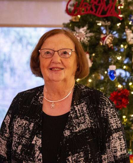 Cedar Rapids woman may be getting older but decorating for Christmas remains important