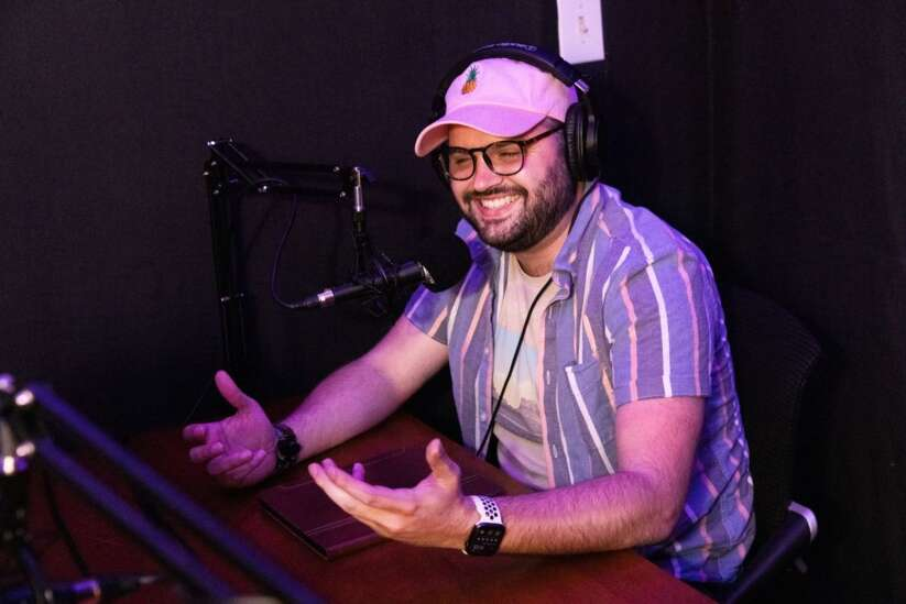 Cedar Rapids duo launches podcast network featuring local voices, content creators