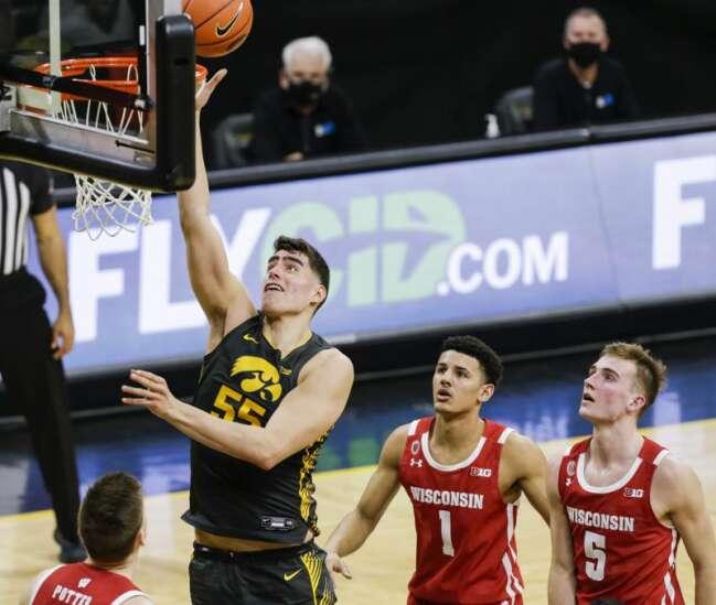 Iowa's Luka Garza is repeat Big Ten men's basketball Player of the Year