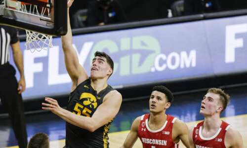 Iowa's Luka Garza is repeat Big Ten men's basketball Player…