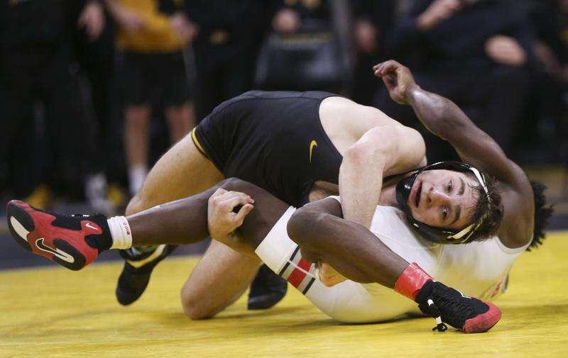 Photos: Iowa Hawkeyes wrestling vs. Ohio State Buckeyes