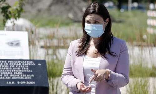 Abby Finkenauer calls more coronavirus relief 'imperative'; criticizes Reynolds pandemic…