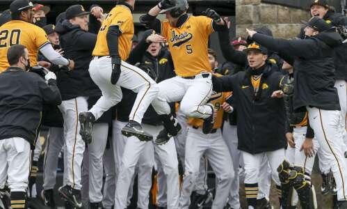 Iowa baseball team left out of NCAA postseason play