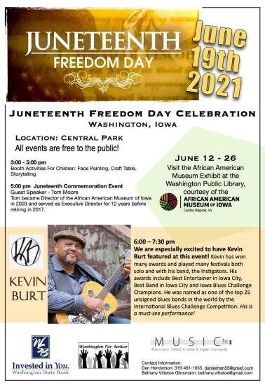Washington celebrates Juneteenth this weekend