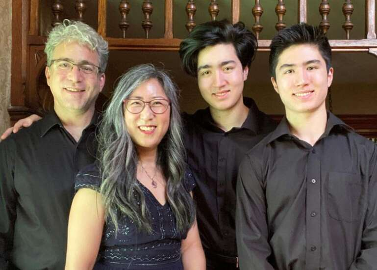 Red Cedar Chamber Music to perform 'Holidays with Wolfgang' in 2 online concerts