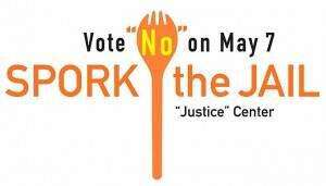 Johnson County justice center opponents focus on spork arrest