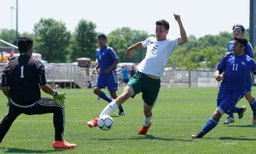 No. 1 Beckman overcomes pressure, West Liberty for quarterfinal win