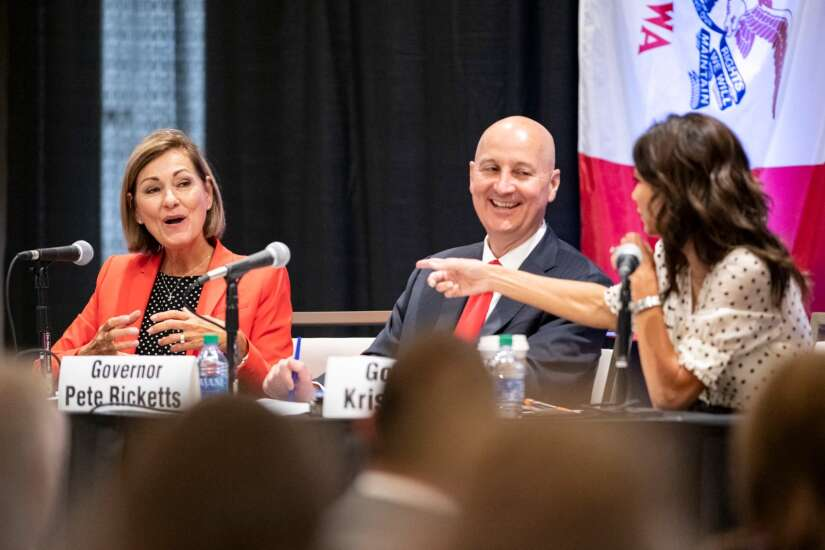 Kim Reynolds joins Nebraska, South Dakota governors to stress need for more workers