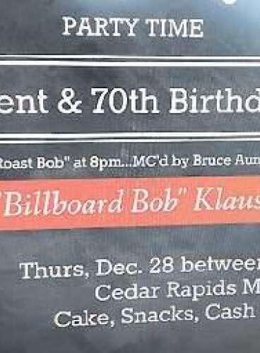 Retirement and 70th Birthday Bash