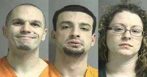 Three charged after meth lab found during Cedar Rapids traffic stop