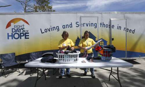 Faith-based mission helps derecho victims with a simple act: Clean…