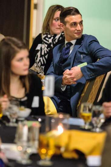 Students spruce up dinner etiquette