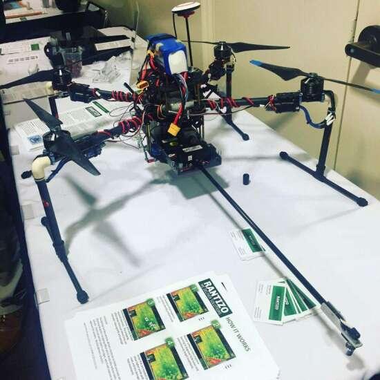 Iowa City drone sprayer company gets attention in Memphis