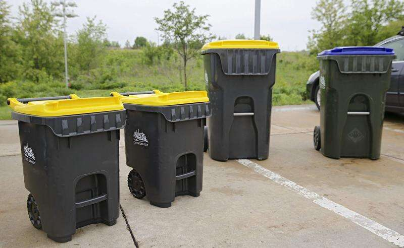 Due to popularity of yard waste and recycling programs, Iowa City workers will collect on July 4
