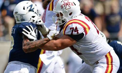 Iowa State football notes: Next man up on offensive line…