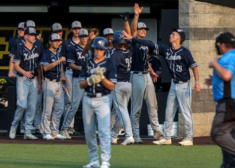 Photos: Cedar Rapids Xavier vs. MOC-Floyd Valley, Class 3A Iowa high school state baseball quarterfinals