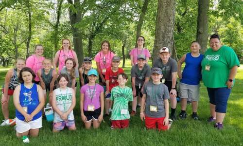 Regional 4-H groups head to Crooked Creek camp