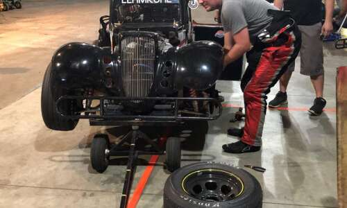Danny Lehmkuhl gets behind the wheel for 'Team Tow Money'…