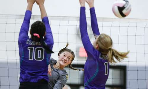 Tipton gains control of River Valley South volleyball race