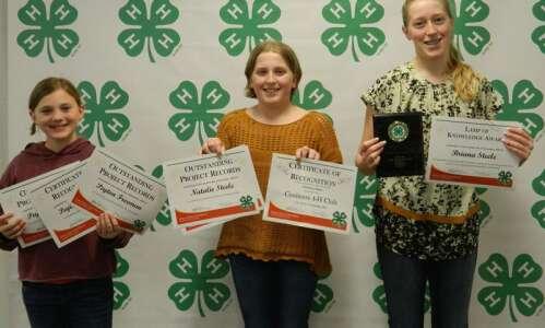 Jefferson County 4-Hers receive awards